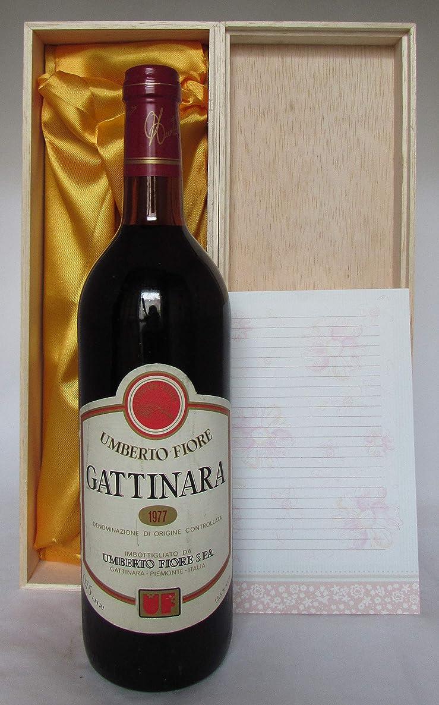 梨引き出す過半数Gattinara 1977 Umbert Fiore ガッティナーラ 1977 ウンベルト フィオーレ [並行輸入品]