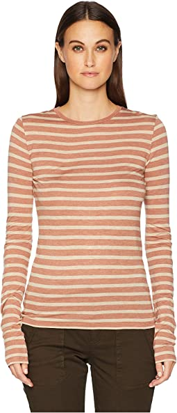 Stripe Long Sleeve Crew