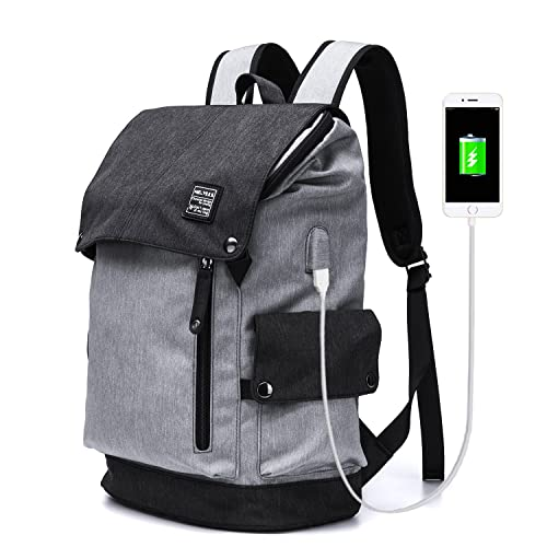 d3b22fd4a8c0 YLLS Business Laptop Backpack for Men Women Anti Theft Tear Water Resistant