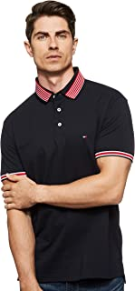 Tommy Hilfiger Men's CONTRAST TIPPED COLLAR REG Polo