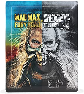 Mad Max Fury Road < Black & Chrome > Edition Blu-ray Steel Book specification (Quantity Limited Production/2Pieces Set) [Blu-ray]