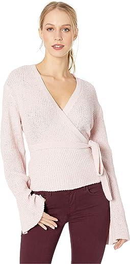 Imelda Fuax Wrap Sweater
