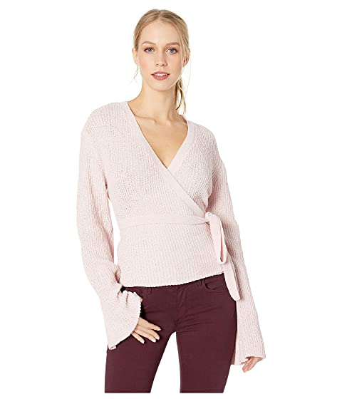 fa14016068 Cupcakes and Cashmere Imelda Fuax Wrap Sweater at 6pm