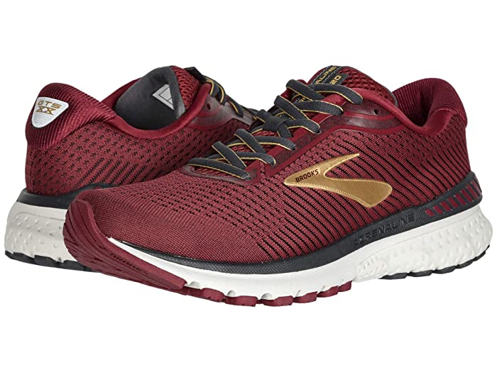 Brooks Adrenaline GTS 20 (Red/Gold/Ebony) Women's Running Shoes