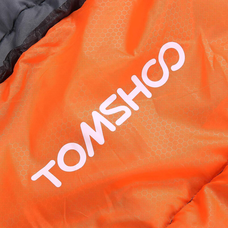 -5℃ ~ 5℃ pour 3-4 Saisons TOMSHOO Sac de Couchage pour Camping 0℃ ~ 10℃ Sac de Couchage rectangulaires dext/érieur Multifonction pour Adulte ou Enfant