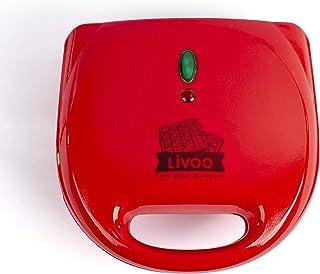 LIVOO DOP133 Appareil 3 en 1 croque-monsieur gril/gaufre