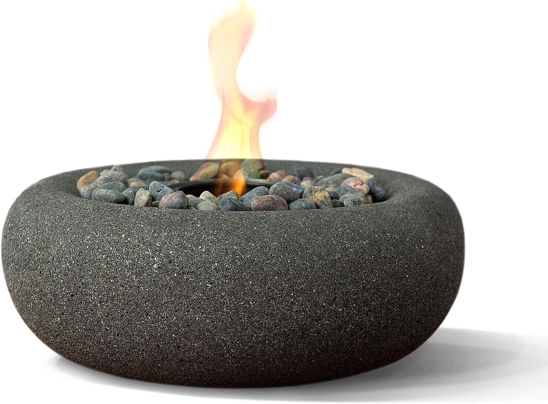 Terra excellence Flame OD-TT-ZEN-GPH-03 Table Fire Very popular Bowl Graphite Top