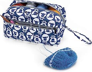 Luxja Sac pelote de Laine, Sac pour Tricot, Sac Tricot pour Crochet Laine, Aiguilles à Tricoter (Max 10 Pouces) et d'autre...