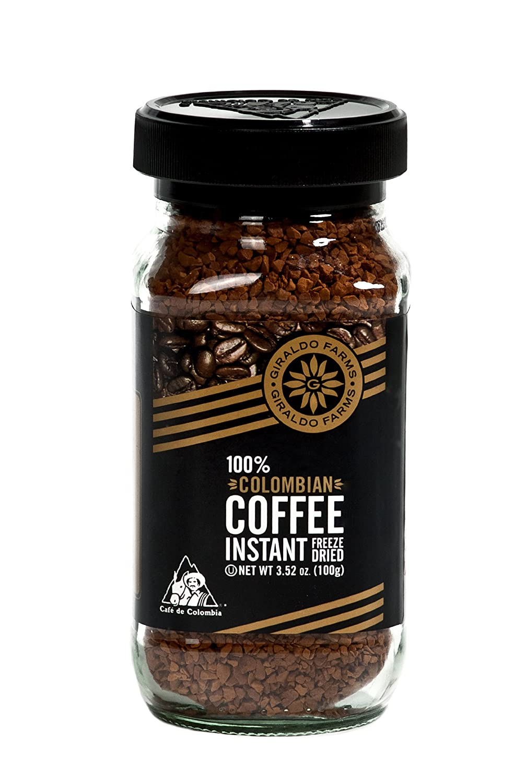 Giraldo Under Miami Mall blast sales Farms 100% Colombian Coffee Instant Freeze-dried 3.5-Ou