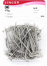 SINGER 00746 T-Pins, 50-Count