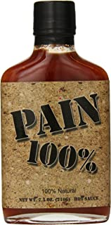 100 percent pain hot sauce scoville