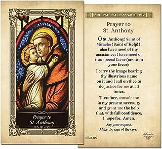 st anthony card