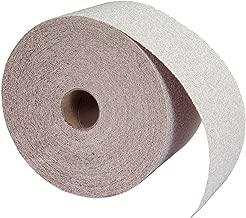 Norton A275 No-Fil Adalox Abrasive Roll, Paper Backing, Pressure Sensitive Adhesive, Aluminum Oxide, Waterproof, Roll 2-3/4
