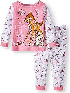 Dumbo Little Star Baby Girl Pajamas 2 Piece Set Short Sleeve Top and Pants
