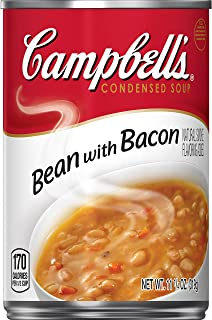 Campbell's Condensed Bean with Bacon Soup, 11.25 oz. Can