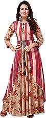 Madhuram Textiles Women's Rayon A-Line Kurta