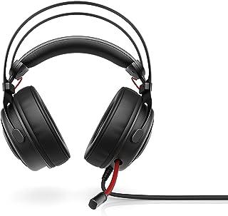 HP Omen 800 Headset, Cushioned noise reduction, Black - 1KF76AA
