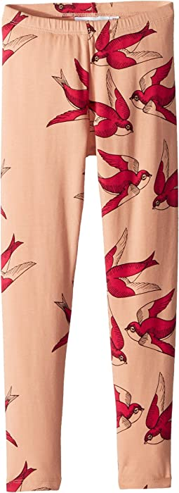 mini rodini Swallows Leggings (Infant/Toddler/Little Kids/Big Kids)