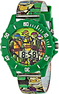 Nickelodeon Boy's Quartz Plastic Watch, Color:Green (Model: TMN4085)