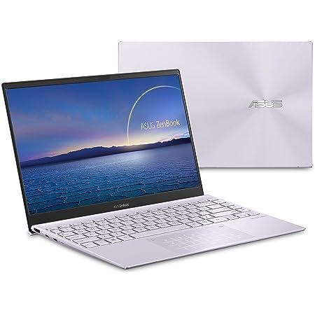 "ASUS ZenBook 13 Ultra-Slim Laptop 13.3"" Full HD NanoEdge Bezel Display, Intel Core i5-1035G1 Processor, 8GB RAM, 256GB PCIe SSD, NumberPad, Windows 10 Home, Lilac Mist, UX325JA-AB51"