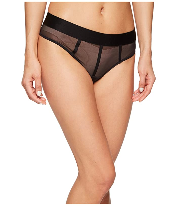DKNY Intimates Sheers Thong (Black) Women's Underwear