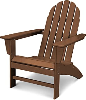 POLYWOOD Vineyard Adirondack Chair (Teak)