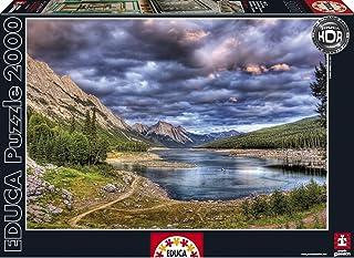 Puzzles Educa - Lago Medicine, Canadá, Puzzle de 2000 Piezas (16014)