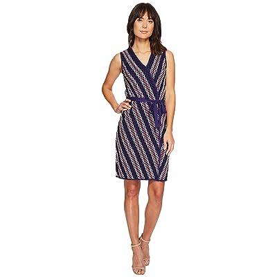 NIC+ZOE Squiggled Up Wrap Dress (Multi) Women