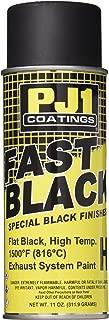 PJ1 16-HIT Flat Black Hi-Temp Spray Paint (Aerosol), 11 oz