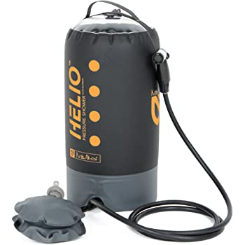 Nemo Helio Portable Pressure Shower with Foot Pump, Sunset
