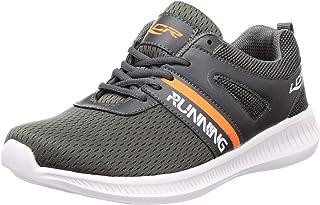 Lancer Men's Grey Hiking Shoes-9 UK (43 EU) (ACTIVE-48DGR-ORG-9)