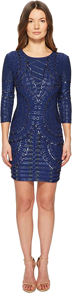 Blues Beaded Dress
