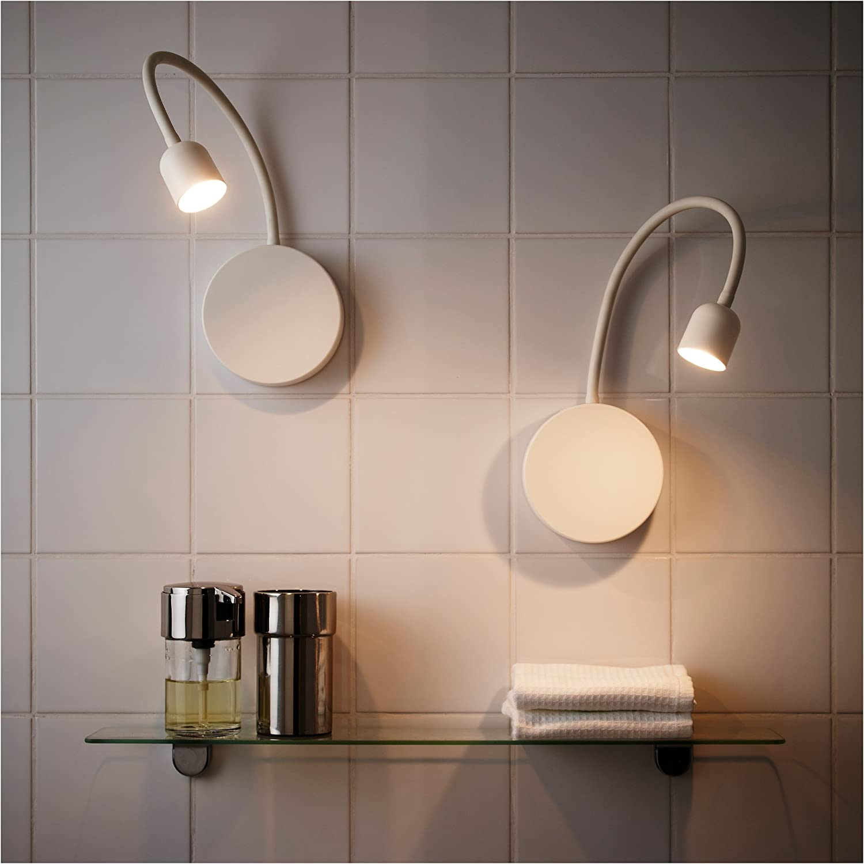 IKEA Blåvik   LED Wandlampe Batteriebetriebene weiß 20 Pack & Pfund ...
