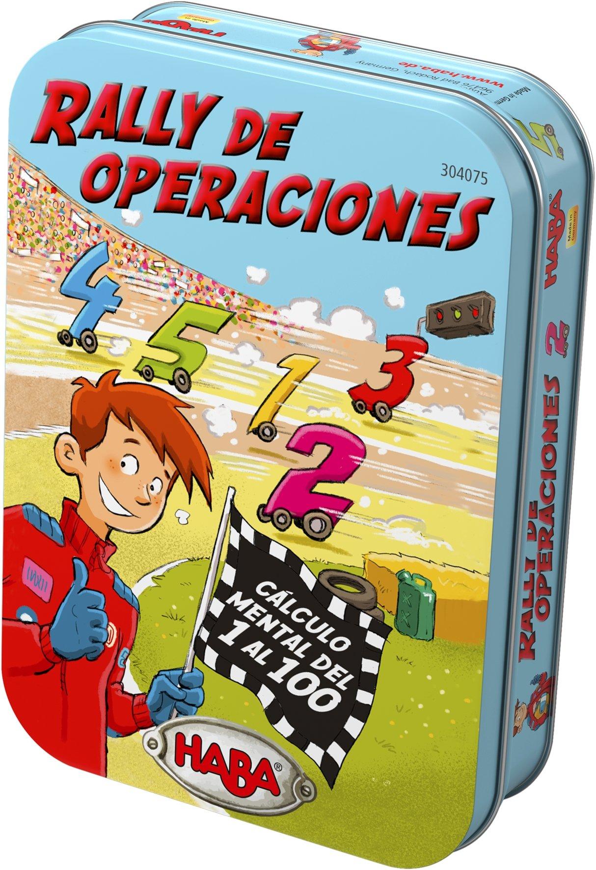 Haba- Rally de Operaciones - ESP, Multicolor (Habermass 304075): Amazon.es: Juguetes y juegos