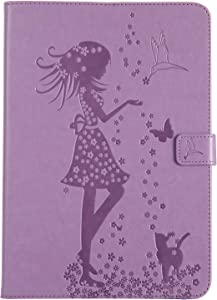 Bear Village  Case for Samsung Galaxy Tab 9 7 Inch  Premium Full Body Protective Cover  Slim Leather Smart Magnetic Case with Multiangle Viewing Stand  Purple