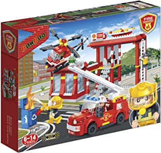 Banbao Fire Series For Kids 505 Pcs - Red