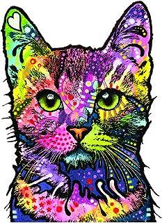 RipNDip vinyl sticker decal bumper laptop skateboard cat kitty flowers art love