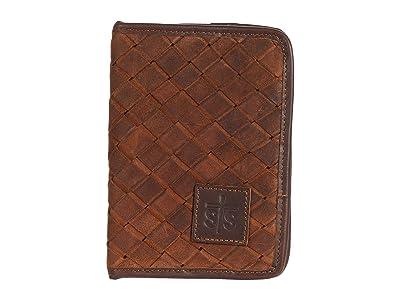 STS Ranchwear Basket Weave Magnetic Wallet