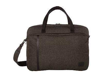 Herschel Supply Co. Gibson Large (Black Crosshatch) Tote Handbags
