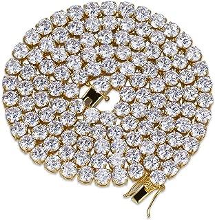Best simulated diamond hip hop jewelry Reviews