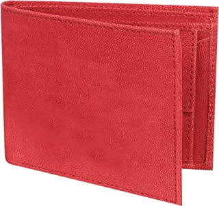 SAMTROH PU Leather Red Men's Wallet