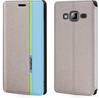 جراب Samsung Galaxy J3 2016، جراب قلاب من الجلد بقفل مغناطيسي متعدد الألوان أنيق مع حامل بطاقة لهاتف Samsung Galaxy J3 Pro...
