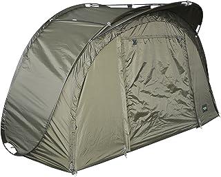 MK-Angelsport Pop up bivvy (mått: 252 x 131 x 124 cm) pop up festival tält fisketält snabbmontering snabbt tält