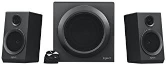 Logitech Z333 2.1 Speakers – Easy-access Volume Control, Headphone Jack – PC, Mobile Device, TV, DVD/Blueray Player, ...