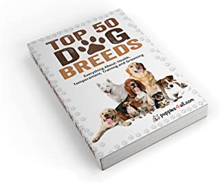 Dog: Dog Breeds: The Top 50 Dog Breeds & Everything About Ther's Health, Temperament, Training and Grooming (Puppies4all Guides Book 1)