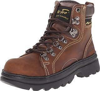 """Adtec Women's 6"""" Work Hiker Brown Work Boot"""