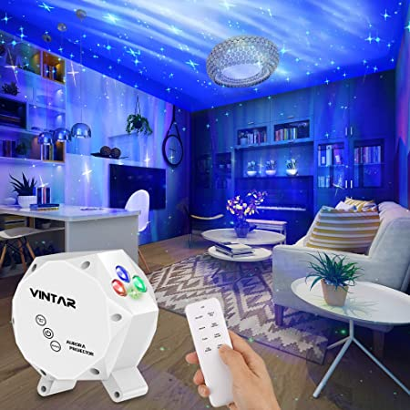 360 Rotation Sky Light with Bluetooth Speaker Metron All Star Light Projector