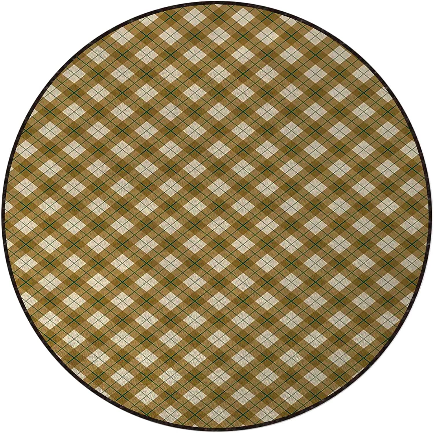 Pale Brown Green Boston Mall Beige Coffee Table Swivel Rug Chair Over item handling Plaid Mats