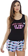 Just Love 100% Cotton Women Sleepwear Tank & Short Pajama Sets