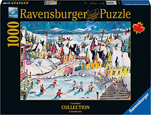 Ravensburger Shinny in Trinity Canadian Collection Canadienne Puzzle (1000-Piece) by Ravensburger